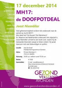 2014.12.17 BAARN_Joost Niemoller_MH17 De Doofpotdeal