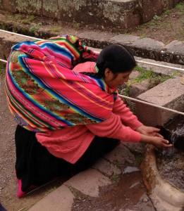 dona Marquesa bij het water